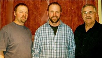 Jeff, Mike & Len Martin